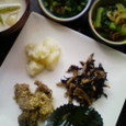 冬菜と桜海老のサッと煮